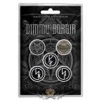 Dimmu Borgir - Button Badge Pack - Eonian.   jelvényszett