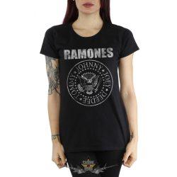 RAMONES - HEY HO LETS GO  női póló