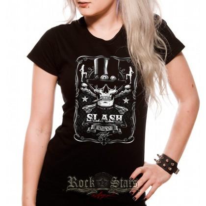 GUNS N ROSES - SLASH női póló - Shark n Roll - Rock- Metal - Webshop ... 71daf7e86a