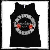 GUNS N ROSES - CIRCLE LOGO  női póló, trikó