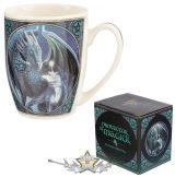 Varázslatos sárkány - Lisa P -  Lisa Parker. Magic dragon.  import bögre
