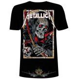 Metallica - Unisex Tee -  Death Reaper.  zenekaros  póló.
