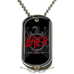 Slayer - Dog Tag Pendant. Black Eagle . DT013.  medál, dog tag