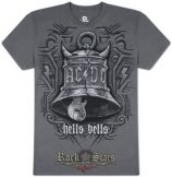 AC/DC - GREY HELLS BELLS  póló
