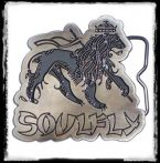 SOULFLY - LOGO  övcsat