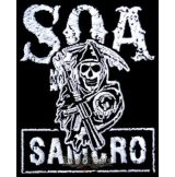 SOA - SONS OF ANARCHY felvarró