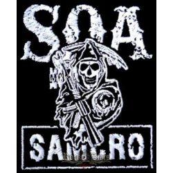 SOA - SONS OF ANARCHY felvarró
