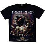 DISTURBED -ASYLUM.  zenekaros póló