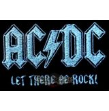 AC/DC - LET THERE BE ROCK  felvarró