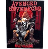 AVENGED SEVENFOLD - HAIL TO THE KING. BPG8.  hátfelvarró