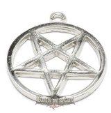 Pentagram - Forditott. Sátán csillag.  JVP.  nyaklánc, medál