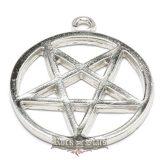 Pentagram - Forditott. Sátán csillag.  M0204  nyaklánc, medál
