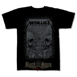 METALLICA - BLACK ALBUM  póló