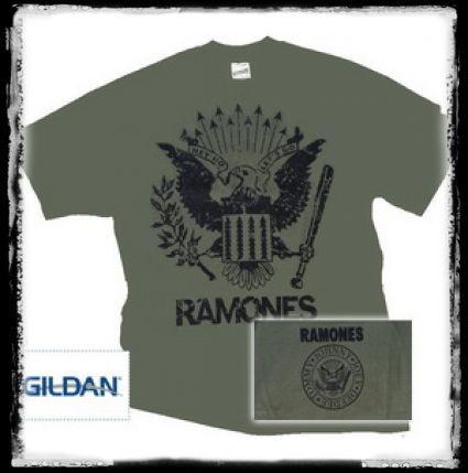 RAMONES - DARK EAGLE póló - Shark n Roll - Rock- Metal - Webshop ... 027c0d2413