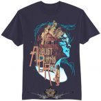 AUGUST BURNS RED - HOUSEFIRE T-Shirt NAVY. zenekaros póló