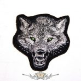 WOLF - FARKASFEJ  felvarró