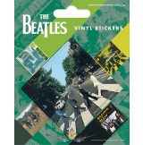 THE BEATLES (ABBEY ROAD). Vinyl stickers. matrica szett