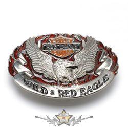 BIKER - RED EAGLE * MOTOR CYCLES. T.F007. szines  övcsat