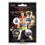 Queen - Button Badge Pack - Later Albums.   jelvényszett