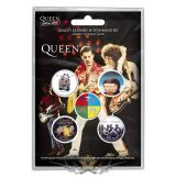 Queen - Button Badge Pack - Later Albums.   jelvényszett