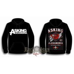 ASKING ALEXANDRIA - HELION  kapucnis pulóver