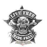 Live Free, Ride Free jelvény