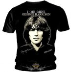 THE BEATLES - George Harrison * 1943 - 2001.  zenekaros  póló.