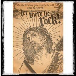 Let-there-be-rock - Jesus  plakát, poszter