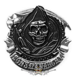 Sons of Anarchy - Logo.  BE. fém motoros jelvény