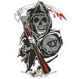 SOA - Sons Of Anarchy - Logo  felvarró