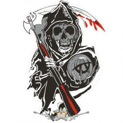 SOA - Sons Of Anarchy - Logo  felvarró