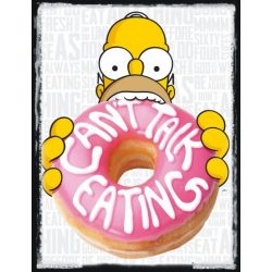 THE SIMPSONS - EATING poszter