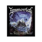 IMMORTAL - At the heart of winter  felvarró
