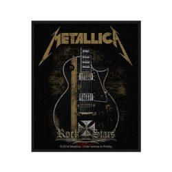 METALLICA - Hetfield guitar.  felvarró