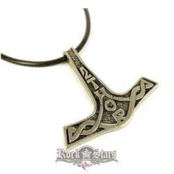 THOR HAMMER - Thor kalapács Mjölnir nyaklánc 6. BE.AP117.   nyaklánc, medál