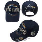 Pink Floyd - Unisex Baseball Cap - Dark Side of the Moon Album Distressed (Navy Blue).  baseball sapka