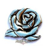 Lady riaider rose,   HM. nagyméretű fém motoros jelvény