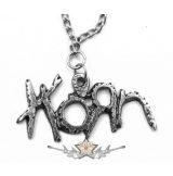 Korn - Logo fém kulcstartó