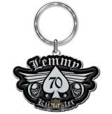 Motorhead - Lemmy '70' Keyring.  import fém kulcstartó