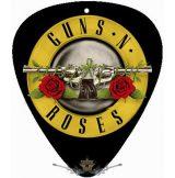 GUNS N ROSES - CIRCLE LOGO.  pengető nyaklánc