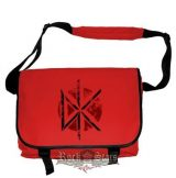 Dead Kennedys - Distressed Logo.  Messenger Bag.   import válltáska