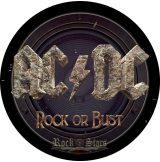 AC/DC - ROCK OR BUST. BPIM..  hátfelvarró
