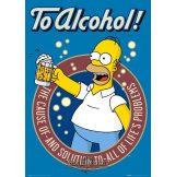 THE SIMPSONS - TO ALCOHOL plakát, poszter