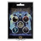 Cradle Of Filth - Button Badge Pack. Cryptoriana.   jelvényszett