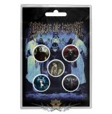 Cradle Of Filth - Button Badge Pack. Cryptoriana.   jelvényszett
