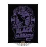 Black Sabbath Standard Patch - Lord Of This World.   import zenekaros felvarró