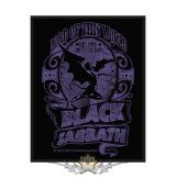 Black Sabbath Standard Patch - Lord Of This World.   import zenekaros felvarró