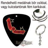 GUNS N ROSES - APETITE FOR DESTRUCTION. ribbon logo.  pengető nyaklánc