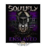 Soulfly - Standard Patch - Enslaved.   import zenekaros felvarró