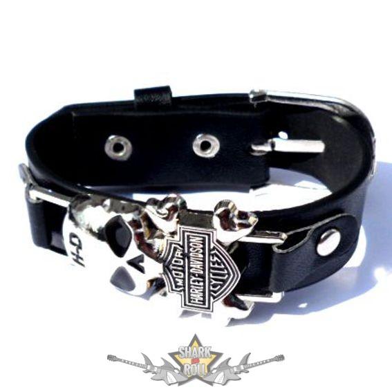 d55718124b Motoros * Harley skull logo. karkötő, csuklópánt - Shark n Roll ...